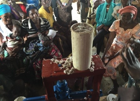 Empowering IDPs through production of cleaner fuels