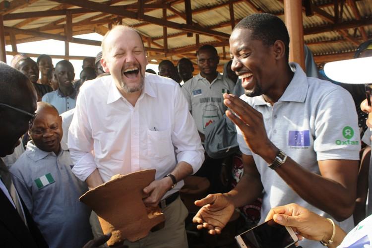 The EU Ambassador visits Katsina Project