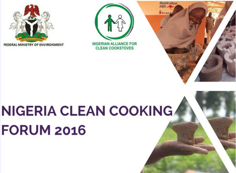 NIGERIA CLEAN COOKING FORUM 2016