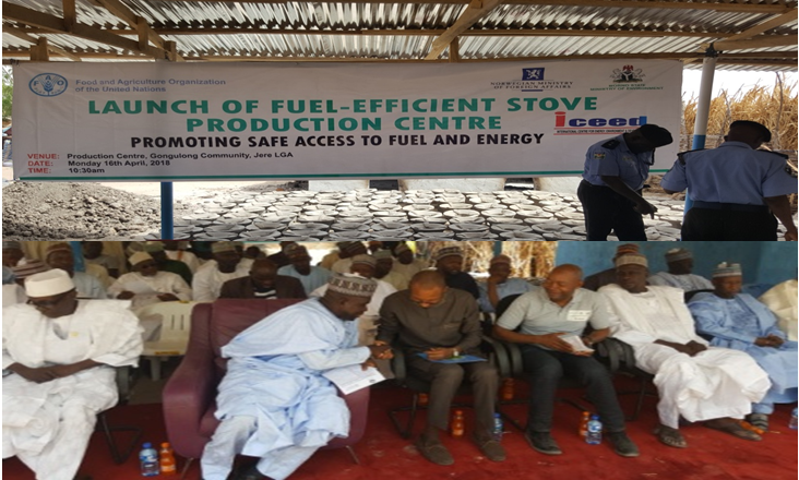FAO – ICEED Establishes Fuel-Efficient Cookstove Production/Training Centres in Borno State