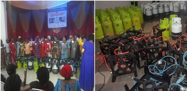 GTHI Empowers 150 Local Food Vendors in Abuja with LPG Cookstoves